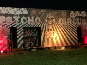Haunted attraction at Jason's Woods in Lancaster County, Pennsylvania